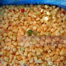 IQF Frozen Apricot Dices em Gold Sun