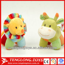 2014 nuevos juguetes lindos y pequeños del animal doméstico de la felpa del diseño para el bebé