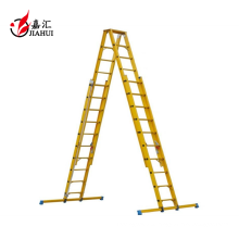 Manufacturer Fiberglass insulation telescopic ladder 6m