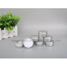 10g frasco de creme de alumínio com tampa de parafuso (PPC-ATC-067)
