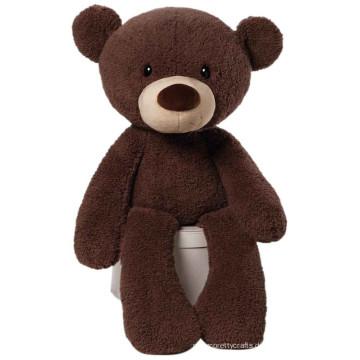 Kundengebundener Soem-Entwurf kawaii Plüschjuguetes schwarzer riesiger Teddybär