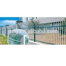 EU-Markt pulverbeschichteter Zaun / Schutzbügel oder verzinkter Gusseisenzaun