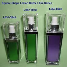 L052G bouteille de Lotion carré