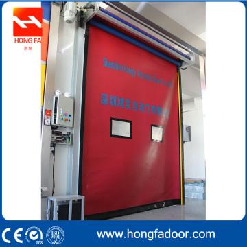 Self-repair Auto-Recovery PVC Fast High Speed Shutter Door