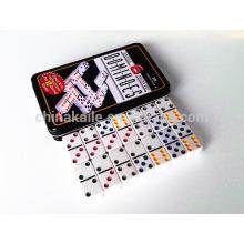 D6 Farbiger Domino in gewöhnlicher Dose