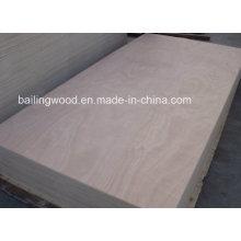Madera contrachapada comercial de la base de la madera dura del precio bajo 12/15 / 18m m con calidad