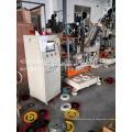 Máquina perforadora y de formación de pinzas con disco CNC de 2 ejes
