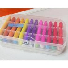 Conjunto de cera de impresión en color pastel de 24 colores