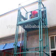 Type de rail de guidage Ascenseur, Plateforme de travail Prix, Nacelle élévatrice