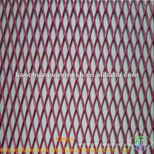 Red expanded metal fence with high quality and competitive price in store