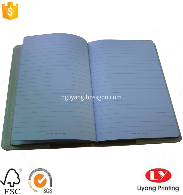 leather gift notebook