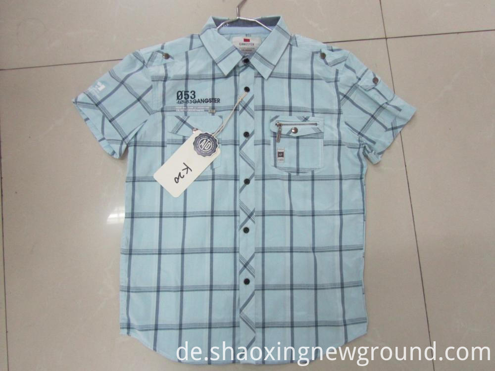 high quality cotton check shirt is made of cotton,it is breathable and soft.Hand cut measure shirts,each customer has his own cutting pattern which is kept in can also hand embroider your initials into the shirts,kinds of styles and fabric for your hoice .