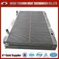 Proveedor directo de intercambiador de calor de aire de aceite de aleta de aluminio