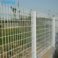 PVC Coated Roll Top BRC Welded Mesh Fence