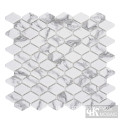 C&K Mosaic Hexagon Glass Mosaic Tile Backsplash Kitchen