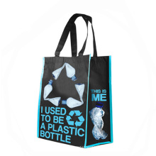 Used to be plastic bottle recycled pet non-woven shopping bag