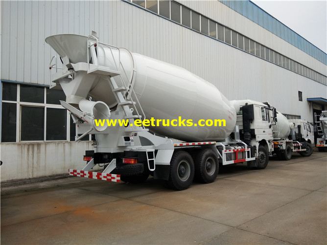 3000 Gallons Used Concrete Mixer Trucks