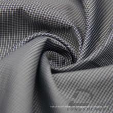 Wasser & Wind-Resistant Daunenjacke Woven Dobby Plaid Jacquard 38% Polyester 62% Nylon Blend-Weaving Intertexture Stoff (H037)