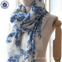 Small and Trial Order Dragon Digital Printing 100% Wool Shawl SWW805