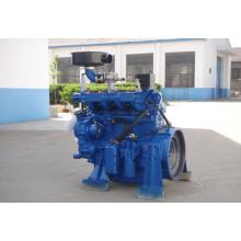 Motor de Gas de 4 cilindros con eje único y mezcla y sistema de encendido