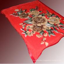 100% Polyester Mink Blanket for Sale