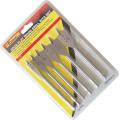 Accessoires pour outils électriques Quincaillerie 6PCS Ensemble de forets à bois plat