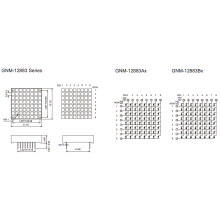 1.2 pulgadas, 3.0X3.0 Panel (GNM-12883Ax-Bx)