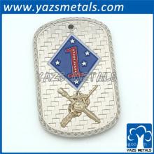YAZS Free design dog tags metal