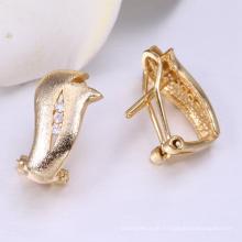 Mütter Tage Schmuck China Herstellung 14 Karat vergoldete Ohrringe