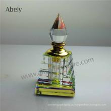 Frascos de perfume de cristal para o óleo essencial