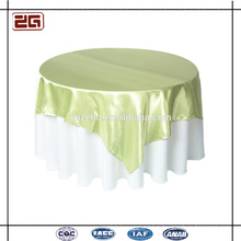 Hot Sale Wedding Used Satin Fabric Customized Colorful Linen and Tablecloth