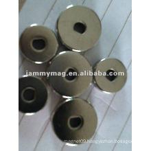 ndfeb custom D ring magnet
