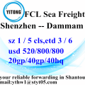 Shenzhen Sea Freight Shipping Forwarder à Dammam