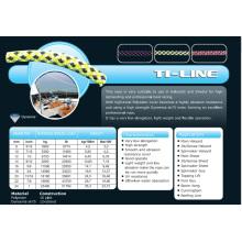 Varios tamaños T1-Line Halyad / Sheet & Control Rope para Racing / Keel Boat / Multihull