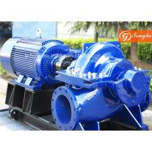 Bomba de agua centrífuga de doble ventosa de succión doble con motor eléctrico