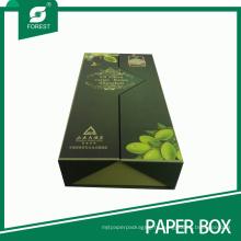 Высококачественное Оливковое Масло Коробка Подарка Упаковки Картона