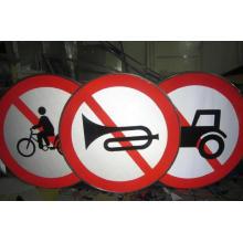 Panneau de signalisation routière en métal Panneau de signalisation directionnelle en métal
