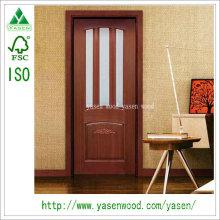 Kundenspezifische Design Hölzerne zusammengesetzte französische Tür