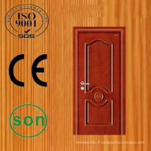 Modèles de porte en bois laque haute qualité