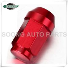 High Quality Racing Aluminum Wheel Lug Nuts Colored Aluminum Wheel Lug Nuts