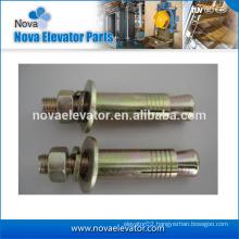 Wedge anchor bolts/elevator part/through bolts