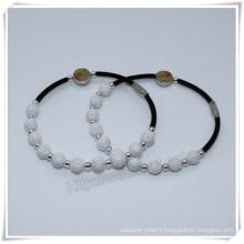 Rose Beads Religious Bracelet, Saint Rosary Bracelet, Religious Bracelet (IO-CB167)