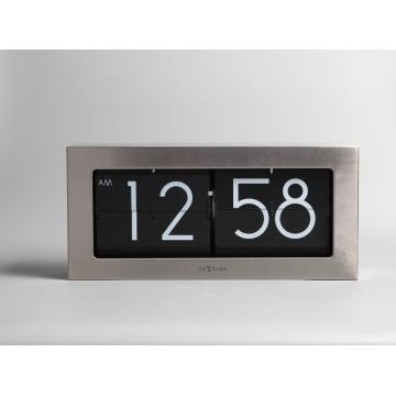 Customerized Western Metal Box Flip Clock