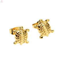 Personality Environmental Alloy Loveliness Animal Gold Stud Sea Turtle Earrings