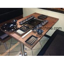 Table de BBQ barbecue barbecue hot pot restaurant coréen
