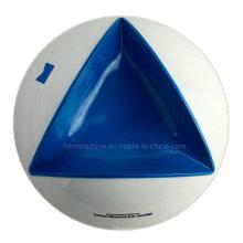 Dreieckiger Melamin Aschenbecher (AT5855)