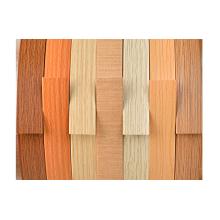 Série de bandes de chant en PVC à grain de bois