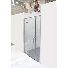 Einfache Badezimmer-Duschkabine mit gehärtetem Glas