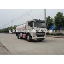 Carro de combustible de la impulsión de HOWO 6X4 de Sinotruk para 15-25 metro cúbico