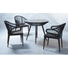 Chaises extérieures de meubles extérieurs rotin